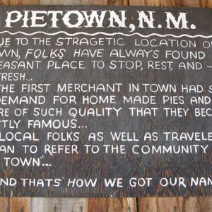 Pie Town History