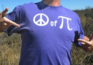 Purple Peace of Pi Shirt