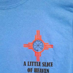 Pie-o-neer Logo T-shirt Blue