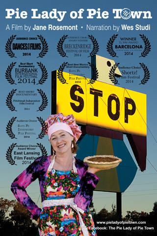 pie lady of pie town film awards